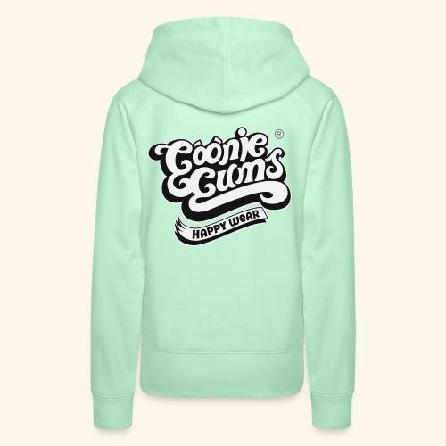 Goonie Gums : Classic Logo - Sudadera con capucha premium para mujer