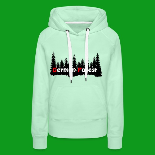 GermanForest 2 png - Frauen Premium Hoodie