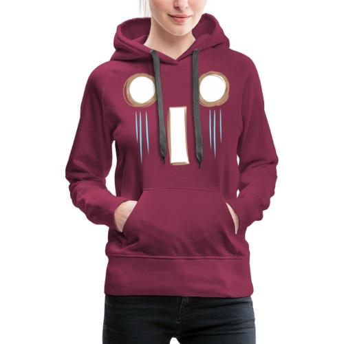 Kawaii_WhattheF_EnChantal - Women's Premium Hoodie