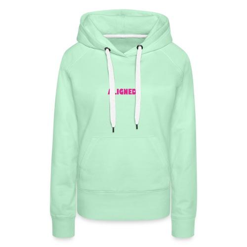 ALIGNED - Sweat-shirt à capuche Premium pour femmes