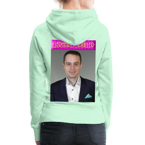 Foto und Logo von Gerhard Müller - Frauen Premium Hoodie
