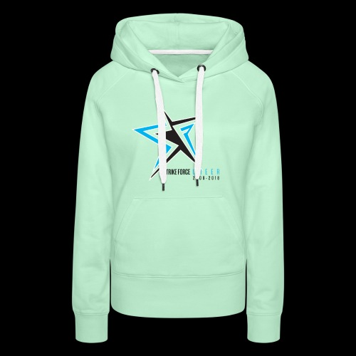 Strike Force 10 YR Logo 02 - Women's Premium Hoodie