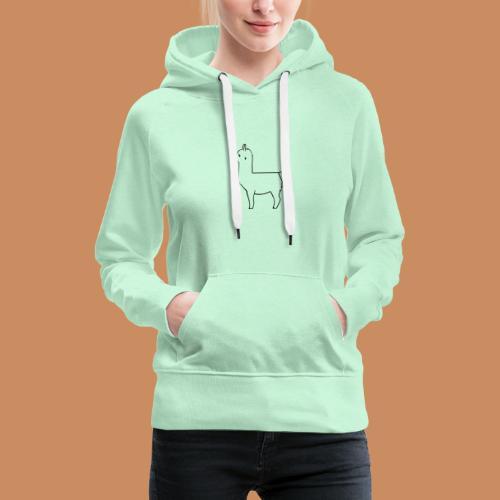 Lama Design - Frauen Premium Hoodie