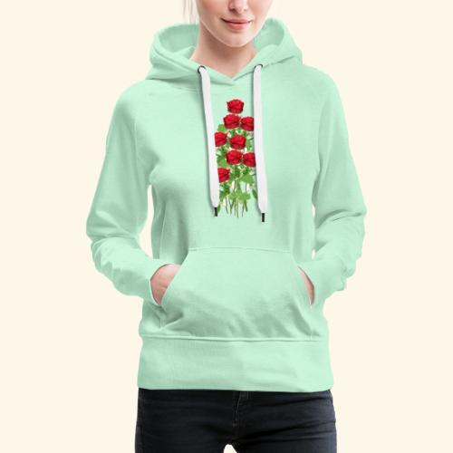 rote rosen - Frauen Premium Hoodie
