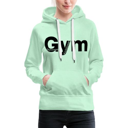 Gym Black - Frauen Premium Hoodie