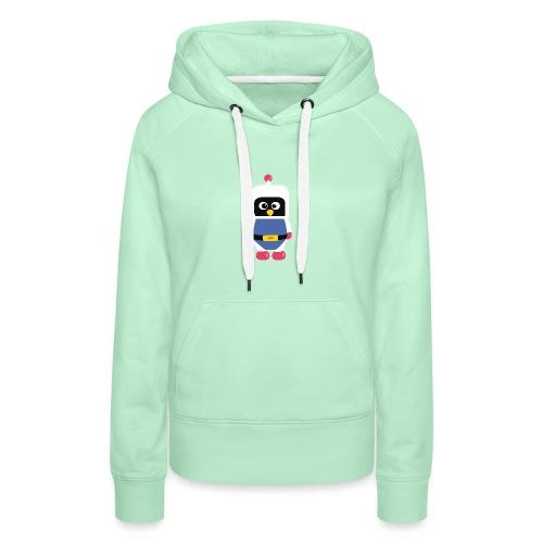 Pingouin Dyna - Sweat-shirt à capuche Premium pour femmes