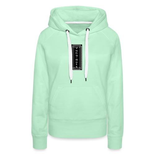 basic cap - Vrouwen Premium hoodie
