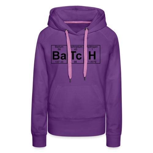 Ba-Tc-H (batch) - Full - Women's Premium Hoodie