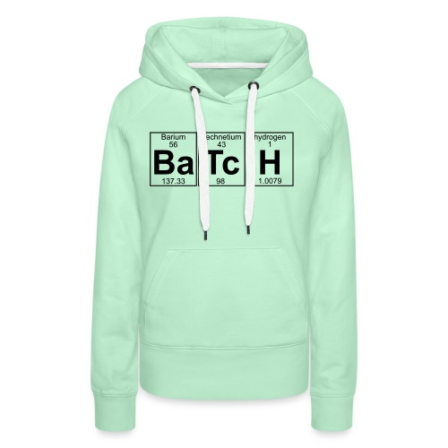Ba-Tc-H (batch) - Full - Women's Premium Hoodie