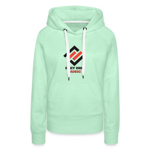 logo designer - Sudadera con capucha premium para mujer