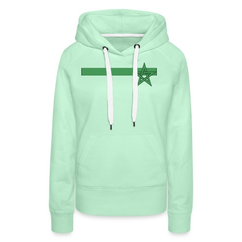 T-shirt Maroc - Sweat-shirt à capuche Premium pour femmes