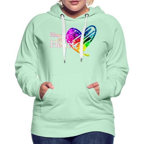 Honour Your Heart 2021 - Women's Premium Hoodie