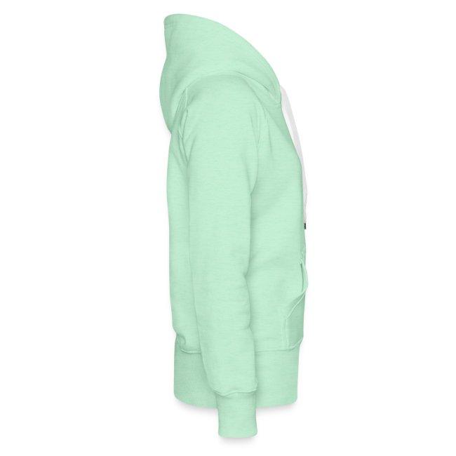 Vorschau: cat pocket - Frauen Premium Hoodie