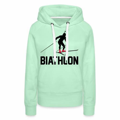 Biathlon - Frauen Premium Hoodie