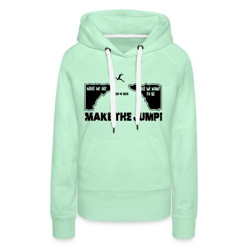 makethejump - Frauen Premium Hoodie