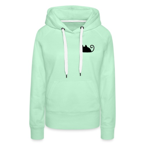 Midnight Cat - Women's Premium Hoodie