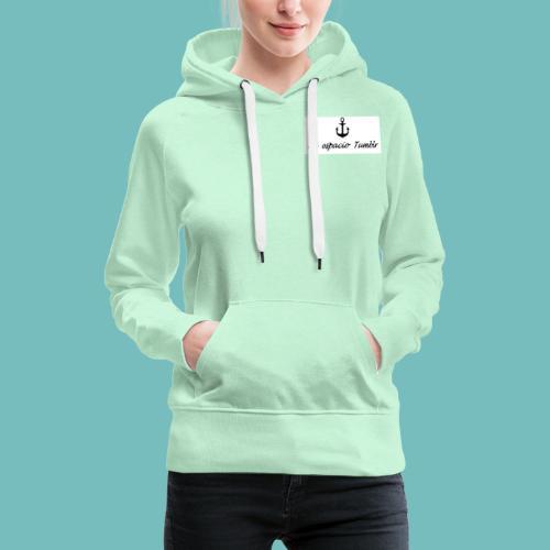 Mi espacio Tumblr - Sudadera con capucha premium para mujer