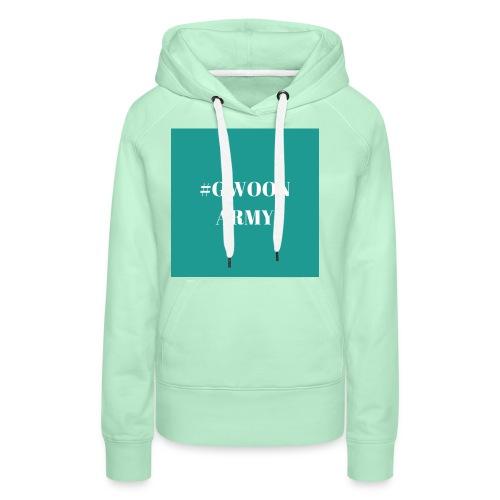 #GwoonArmy - Vrouwen Premium hoodie