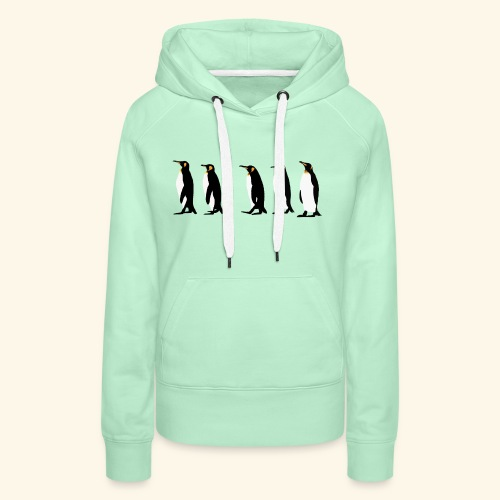 March of the Penguins - Women's Premium Hoodie