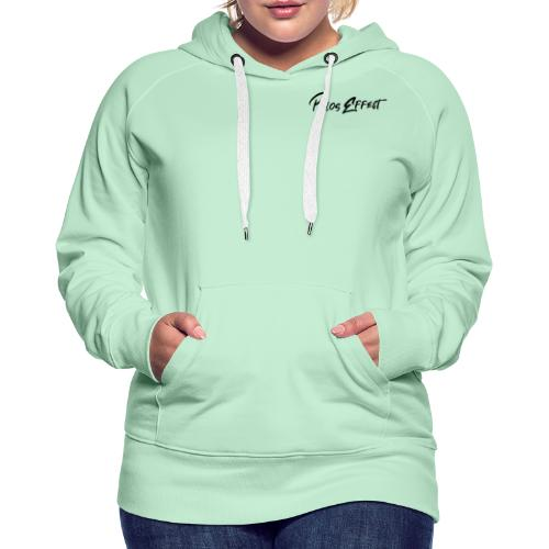 Pélos Effect #1 - Sweat-shirt à capuche Premium pour femmes
