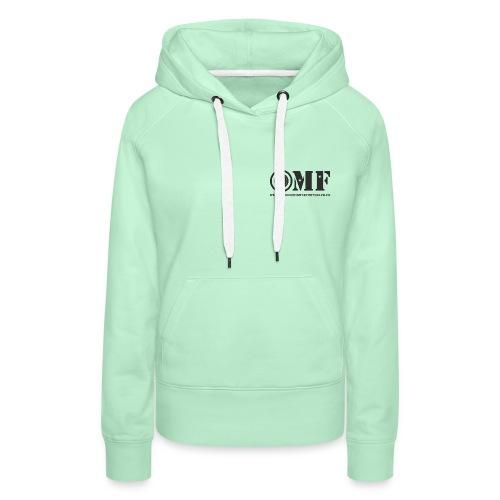 OMF black logo - Women's Premium Hoodie
