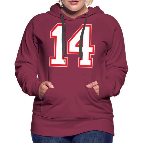 DANNIEB 14 - Felpa con cappuccio premium da donna