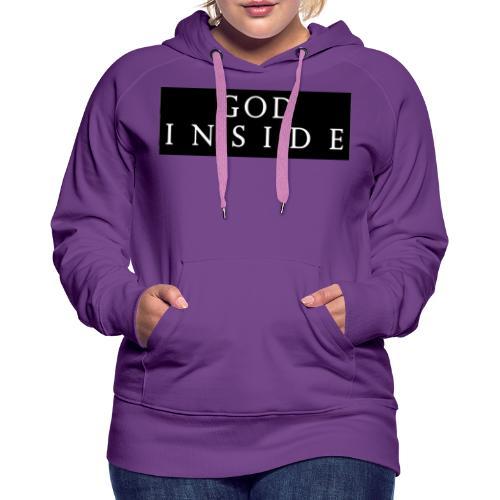 GOD INSIDE - Women's Premium Hoodie