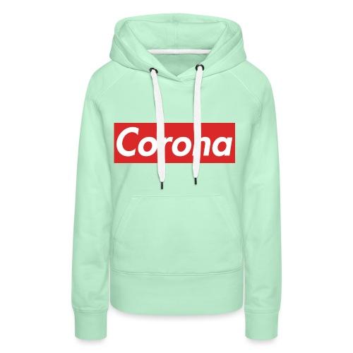 Corona - Frauen Premium Hoodie