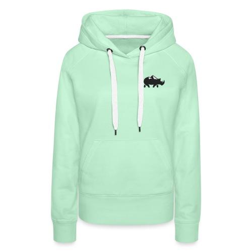 Rhino LIB PICTURE - Sweat-shirt à capuche Premium pour femmes