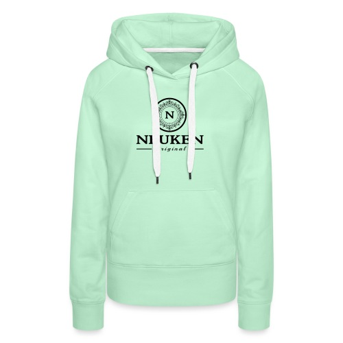 neuken black - Vrouwen Premium hoodie