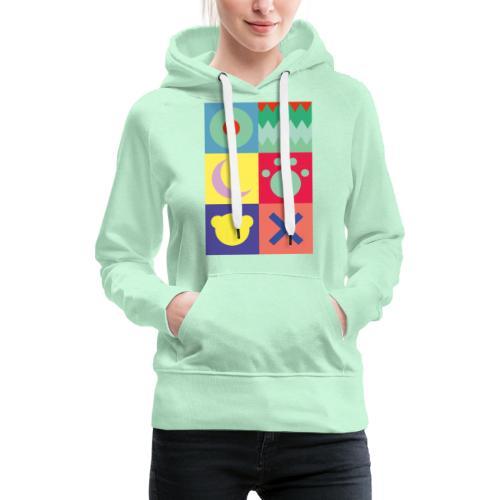 Ostfriesland Wappen - Minimalistisch - Frauen Premium Hoodie