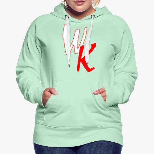 WK - Bluza damska Premium z kapturem