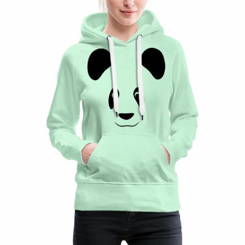Happy Panda - cute little panda - Women's Premium Hoodie