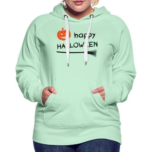Happy halloween - Vrouwen Premium hoodie