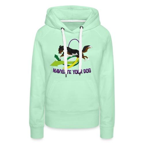 *nyd* Logo (für hellen Untergrund) - Frauen Premium Hoodie
