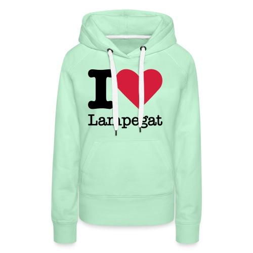 I Love Lampegat - Vrouwen Premium hoodie