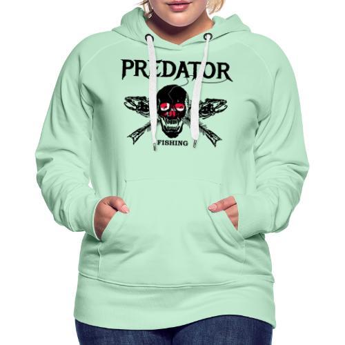 predator fishing dänemark - Frauen Premium Hoodie
