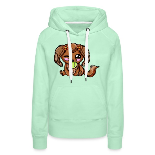 Puppy Dog Kawaii - Sweat-shirt à capuche Premium pour femmes