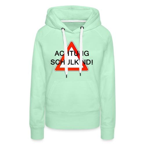 Schulweg - Frauen Premium Hoodie