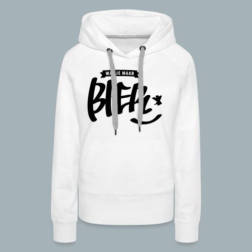 Bier Premium T-shirt - Vrouwen Premium hoodie