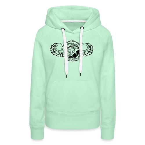 HAF tshirt back2015 - Women's Premium Hoodie