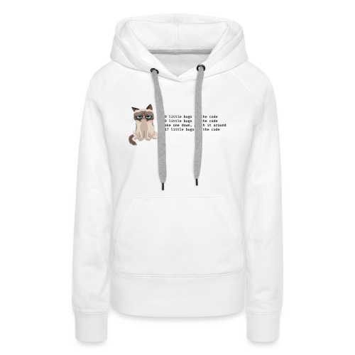 99 litle bugs of code - Vrouwen Premium hoodie