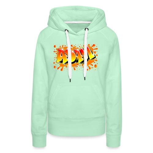 Graffiti Adam - Sweat-shirt à capuche Premium pour femmes