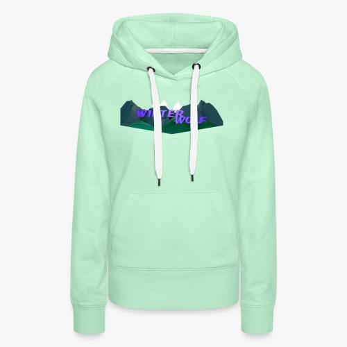 WINTERWOLF Season IV logo - Vrouwen Premium hoodie