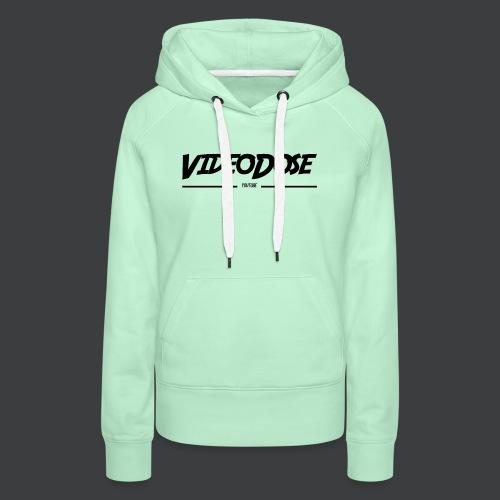 t-shirt_design_VideoDose - Vrouwen Premium hoodie