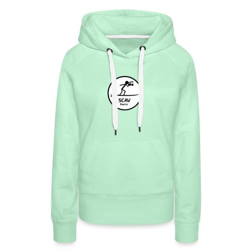 Sweatshirt Post Session - Sweat-shirt à capuche Premium pour femmes