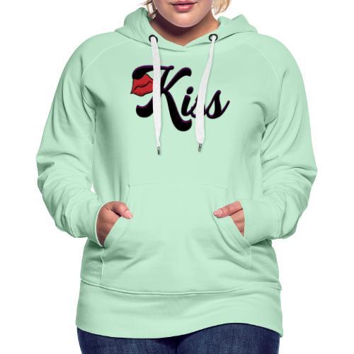 kiss - Vrouwen Premium hoodie