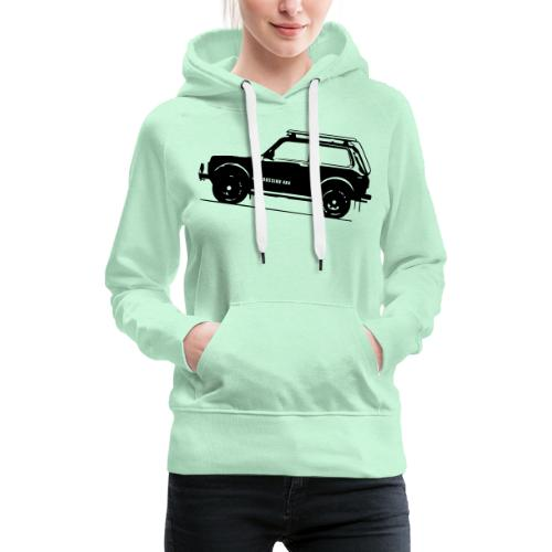 Lada Niva 2121 Russin 4x4 - Frauen Premium Hoodie