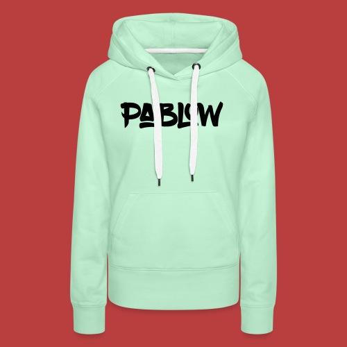 Pablow Logo - Vrouwen Premium hoodie