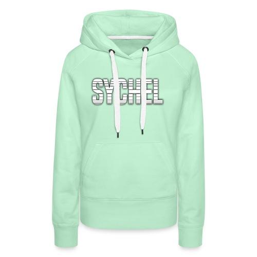 Sychel Bold Logo - Women's Premium Hoodie